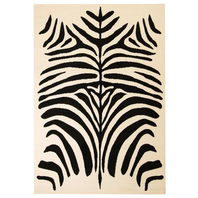 Our modern rug with its beautiful zebra design will be an eye-catcher in every interior!