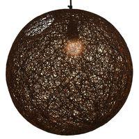 vidaXL Hanging Lamp Brown Sphere 45 cm E27