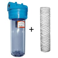 3/4 Inch Water Filter Whole House Purifier Kit Sediment Filter