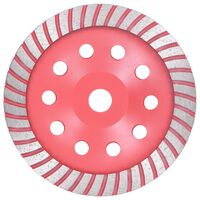 vidaXL Diamond Grinding Cup Wheel with Turbo 180 mm