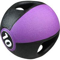 Pure2Improve Medicine Ball with Handles 10 kg Purple