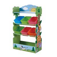 Fantasy Fields Children Sunny Safari Wooden Toy Storage Tidy Organiser