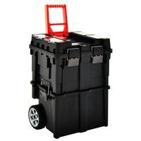 vidaXL Tool Organiser Trolley with Handle 46x36x41 cm
