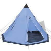 vidaXL 4-person Tent Blue