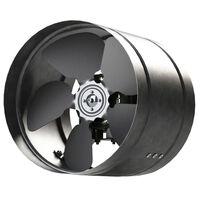 160mm Inline Duct Extractor Fan Zinc Metal Arw Ducting Industrial Fan