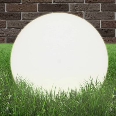 vidaXL LED Bowl Lamp Spherical 50 cm PMMA