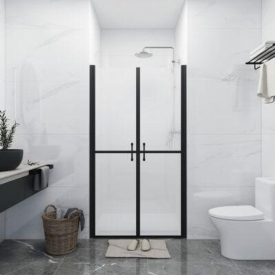 vidaXL Shower Door Frosted ESG (88-91)x190 cm