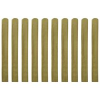 vidaXL 30 pcs Impregnated Fence Slats Wood 100 cm