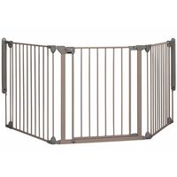 Safety 1st Safety Gate Modular 3 3 Panels Grey 82-214 cm 24226580