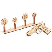 Wood Trick Wooden Scale Model Kit Shotgun