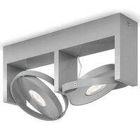Philips Spotlight Particon 2x4.5 W Grey 531524816