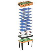 vidaXL 15-in-1 Multi Game Table 121x61x82 cm Maple