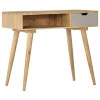 vidaXL Console Table 89x44x76 cm Solid Mango Wood