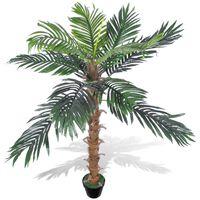 Artificial Plant Coconut Palm Tree with Pot 140 cm