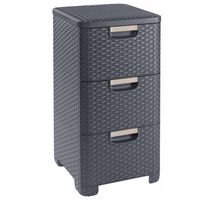Curver Style Drawer Cabinet  42L Anthracite