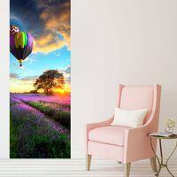 Walplus Door Mural Sticker Provence Lavender, Home Decoration, Decal