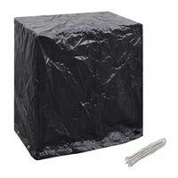 vidaXL Garden Furniture Cover Tabletennis Table 8 Eyelets 160x55x182cm
