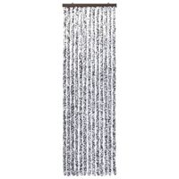 vidaXL Insect Curtain Brown and Beige 90x200 cm Chenille