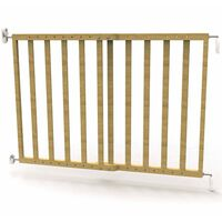 Noma Extending Safety Gate 63.5-106 cm Wood Natural 93729