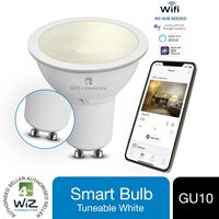 Wiz Led Gu10 Smart Bulb Wifi Warm White & Dimmable, 1 Pack
