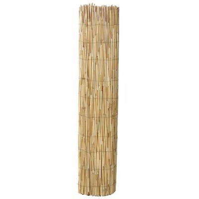 vidaXL Garden Reed Fence 500x100 cm