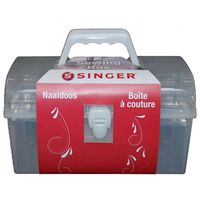 Singer Sewing Box Grey and Red