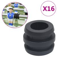 vidaXL Football Table Rod Stoppers for 15.9/16 mm Rod 16 pcs