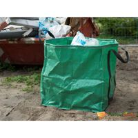 Nature Garden Waste Bag Square Green 148 L