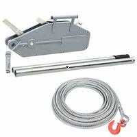 vidaXL Wire Rope Hoist Winch 1600 kg