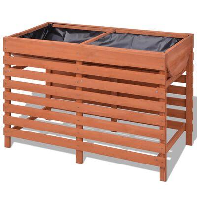 vidaXL Planter 100x50x71 cm Wood