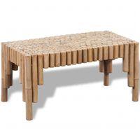 vidaXL Coffee Table Bamboo