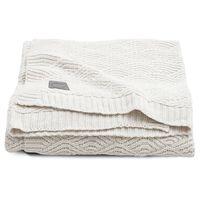 Jollein Blanket River Knit 75x100 cm Cream White