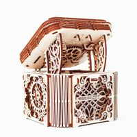 WOODEN CITY Wooden Scale Model Kit Mystery Box