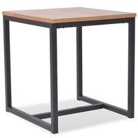 vidaXL Coffee Table Ash 48x48x53 cm