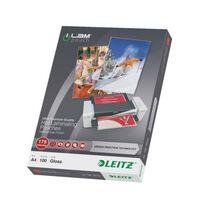 Leitz Lami-Pouches ILAM 175 Microns A4 100 pcs