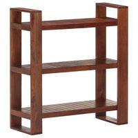 vidaXL Book Cabinet Honey Brown 84x30x90 cm Solid Acacia Wood