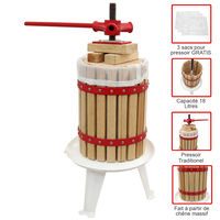 KuKoo Fruit Press Manual Cider Making Pressed Juice Homemade Wine 18 L
