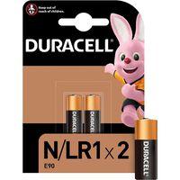 Duracell N Alkaline Battery 1.5v, Pack Of 2