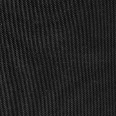 vidaXL Sunshade Sail Oxford Fabric Rectangular 2x4 m Black