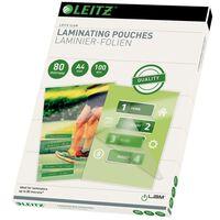 Leitz Laminating Pouches 80 Microns A4 100 pcs