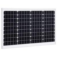 vidaXL Solar Panel 40 W Monocrystalline Aluminium and Safety Glass