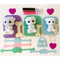 Fuzzikins Craft & Play Kit Dogs