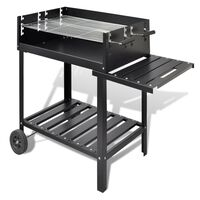 BBQ Stand Charcoal Barbecue 2 Wheels