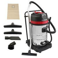 MAXBLAST Industrial Wet Dry Vacuum Cleaner & Attachments 80L