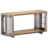 vidaXL TV Cabinet 90x30x40 cm Solid Mango Wood