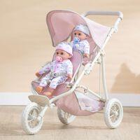 "Baby 16"" Doll Pram Stroller Buggy Pushchair Toy Gift by Olivia's World"