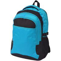 vidaXL School Backpack 40 L Black and Blue