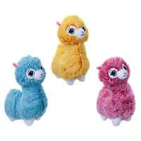 Doodle 30cm Colourful Alpaca Soft Stuffed Plush Doll, Assorted Colours