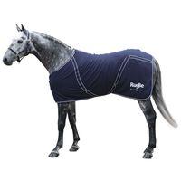Covalliero Fleece Horse Blanket RugBe Classic 145 cm Navy Blue