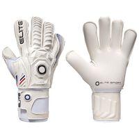 Elite Sport Goalkeeper Gloves Lion Size 8 White
